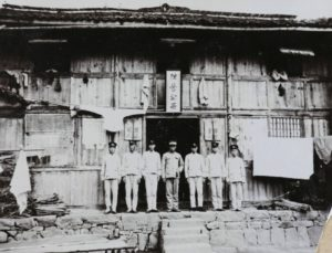1910s Shanghai Police Station in Chinese City